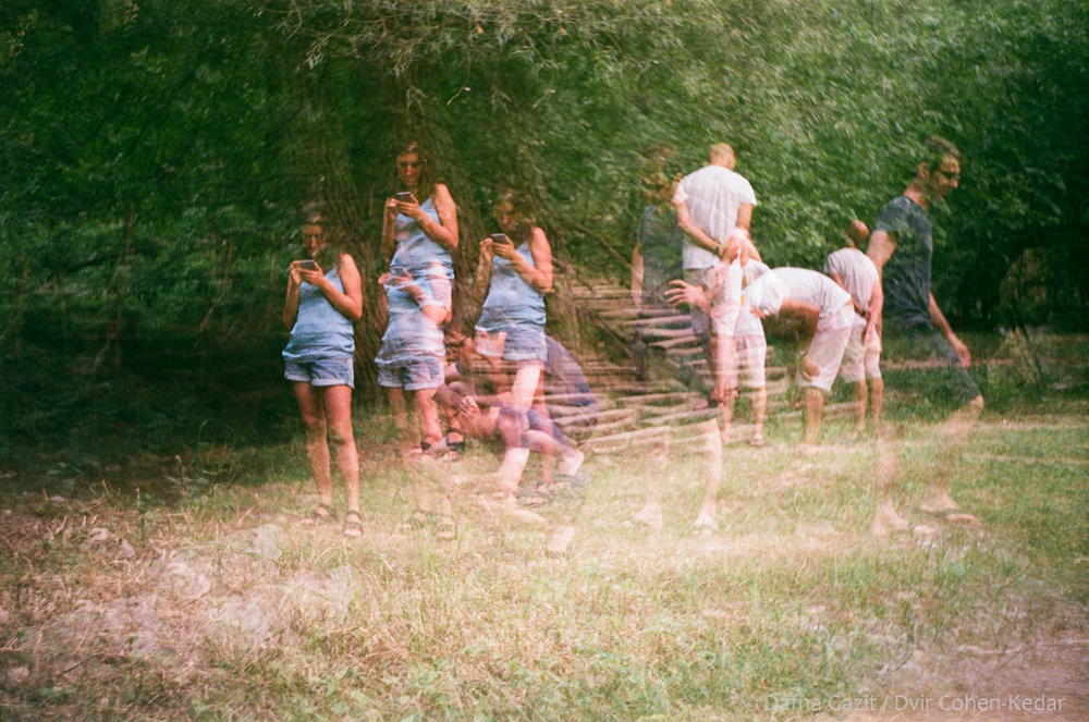 Title: Searcing for Frogs  Camera type: Smena 8  Film type:Fuji 200  Date: August 2017  Location: Bulgaria