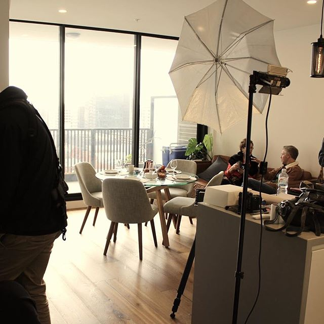 A recent client shoot on a new property with @tav_productions and Projected PM. Working with property projects is very exciting and it's good to be able to bring in the professional talent we need to deliver a compelling story. #adelaide #development #film #behindthescenes #storytelling #apartmentadelaide #adelaideapartments