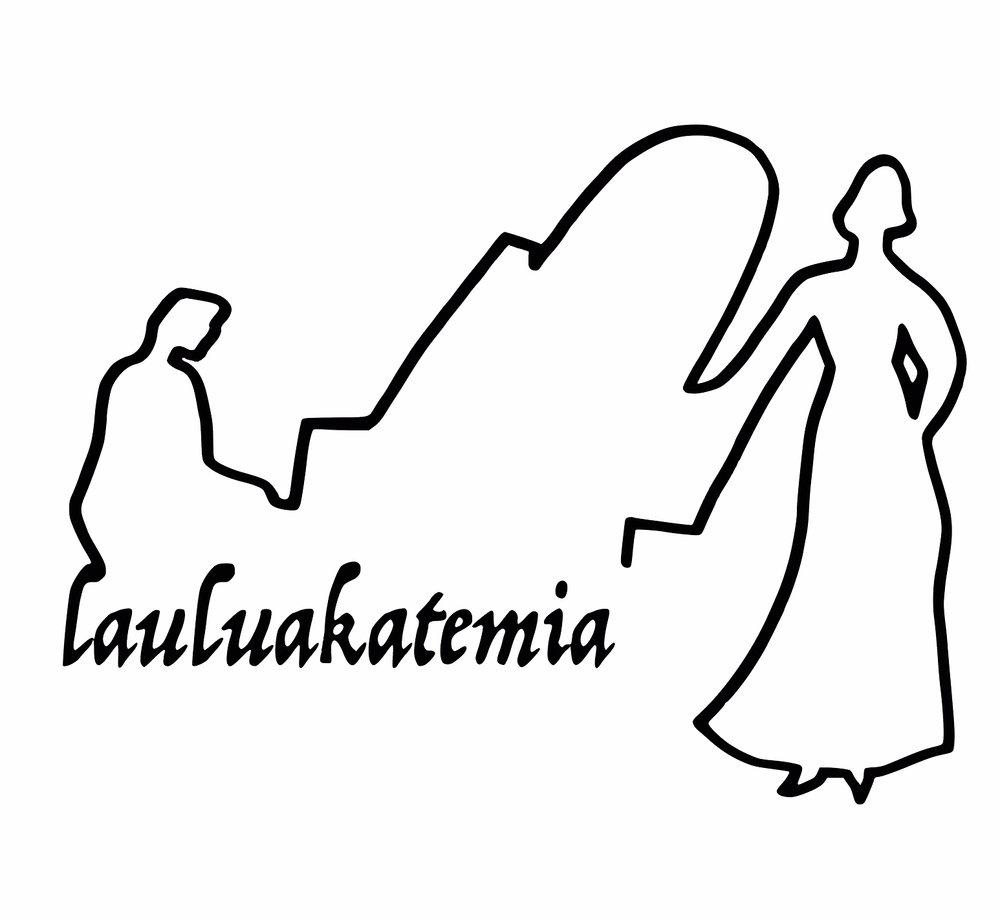 Lauluakatemian uuden logon suunnitteli kuvataiteilija mari sarviaho.