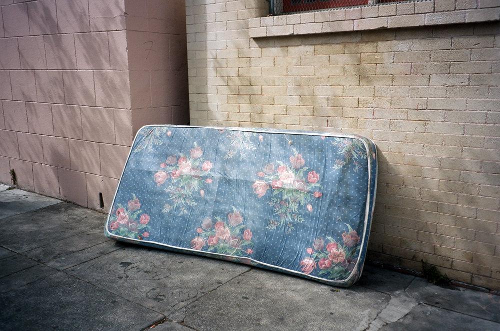 Capp Street mattress, 2015