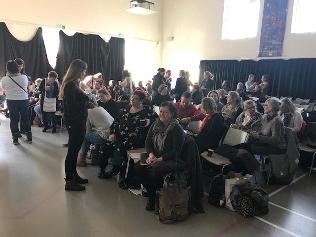 KvaliKomBo foreningen holdt oplægget i den store sal på SPUC, i Helsingør.