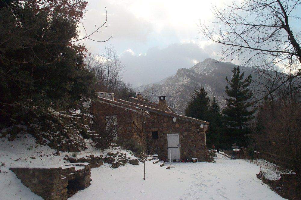 La Bergerie in winter