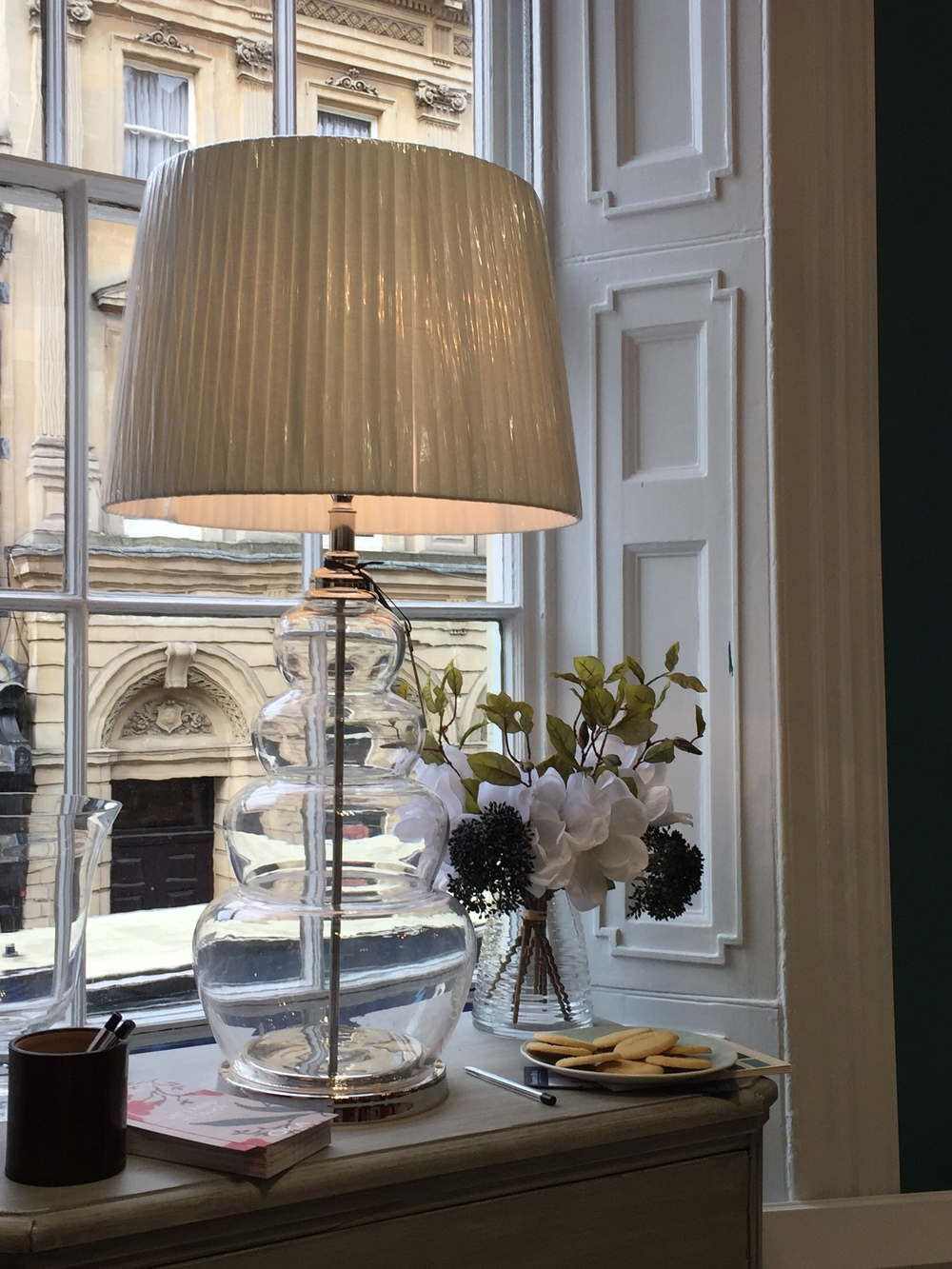 Luxury Brand: A Day Out with OKA Interior Design House: Glass Lamp