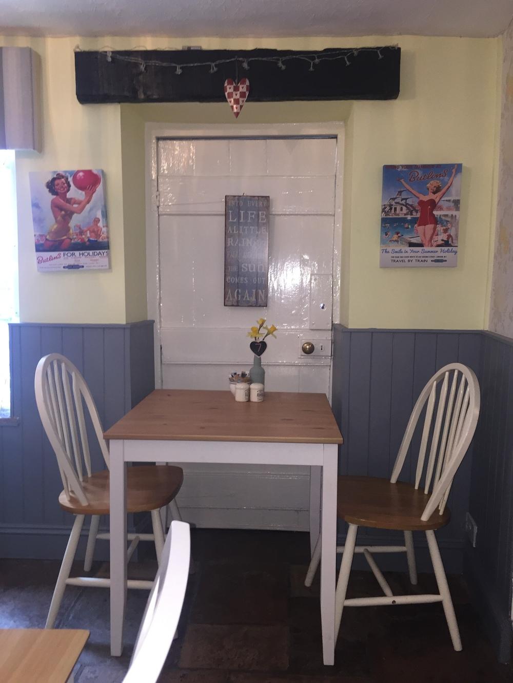Cheddar Tea Rooms Decor