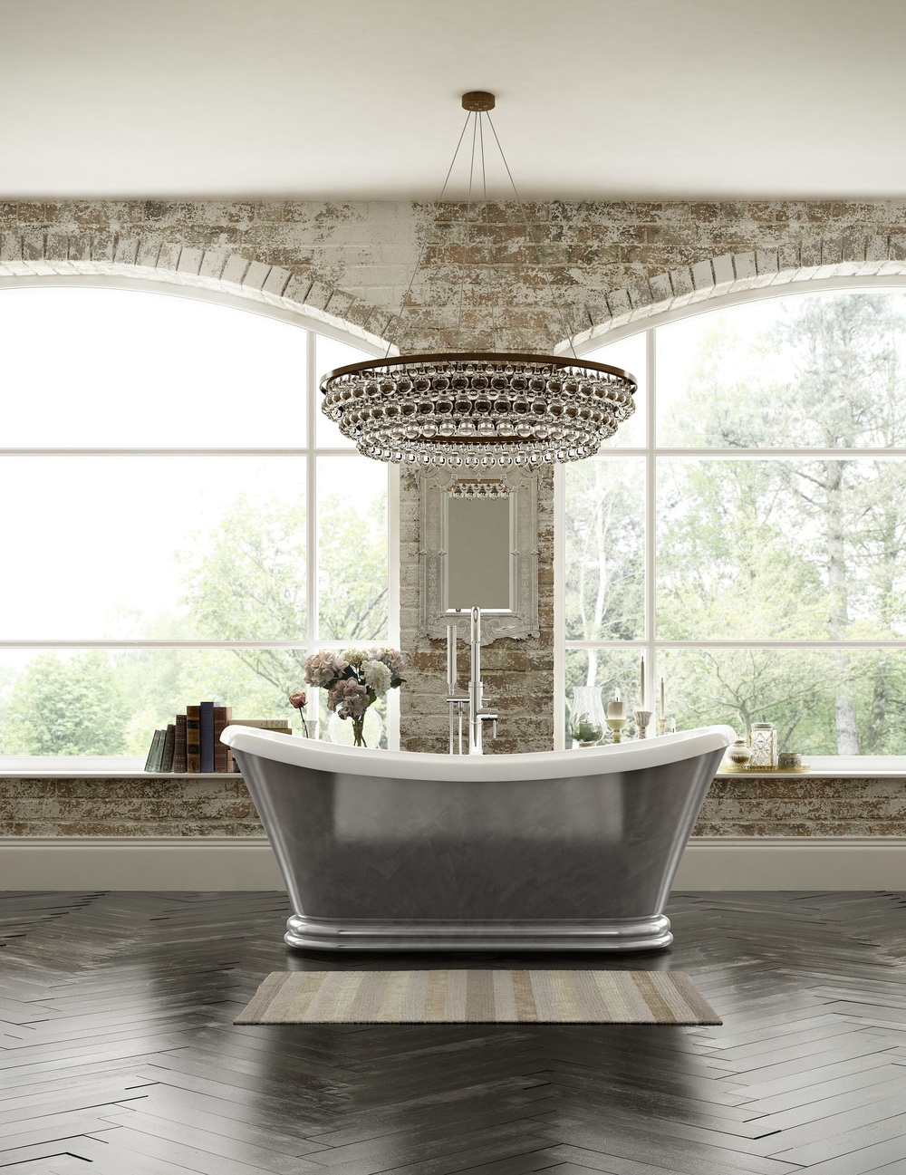 Indulge in a Roll Top Bath