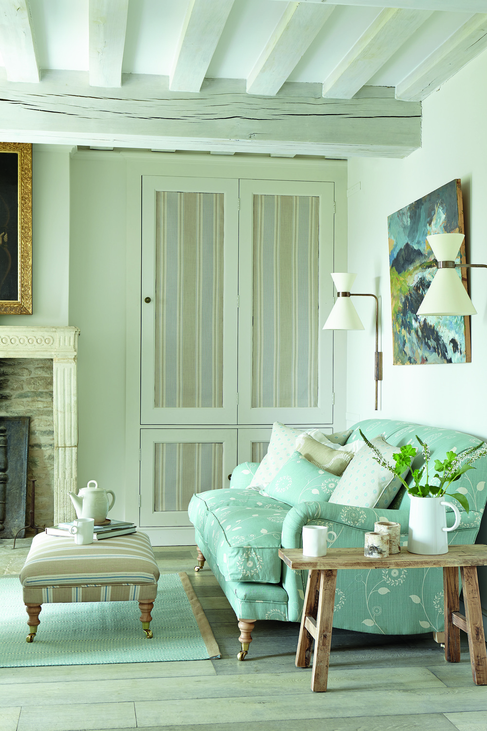 A Cosy Country Living Room by Vanessa Arbuthnott
