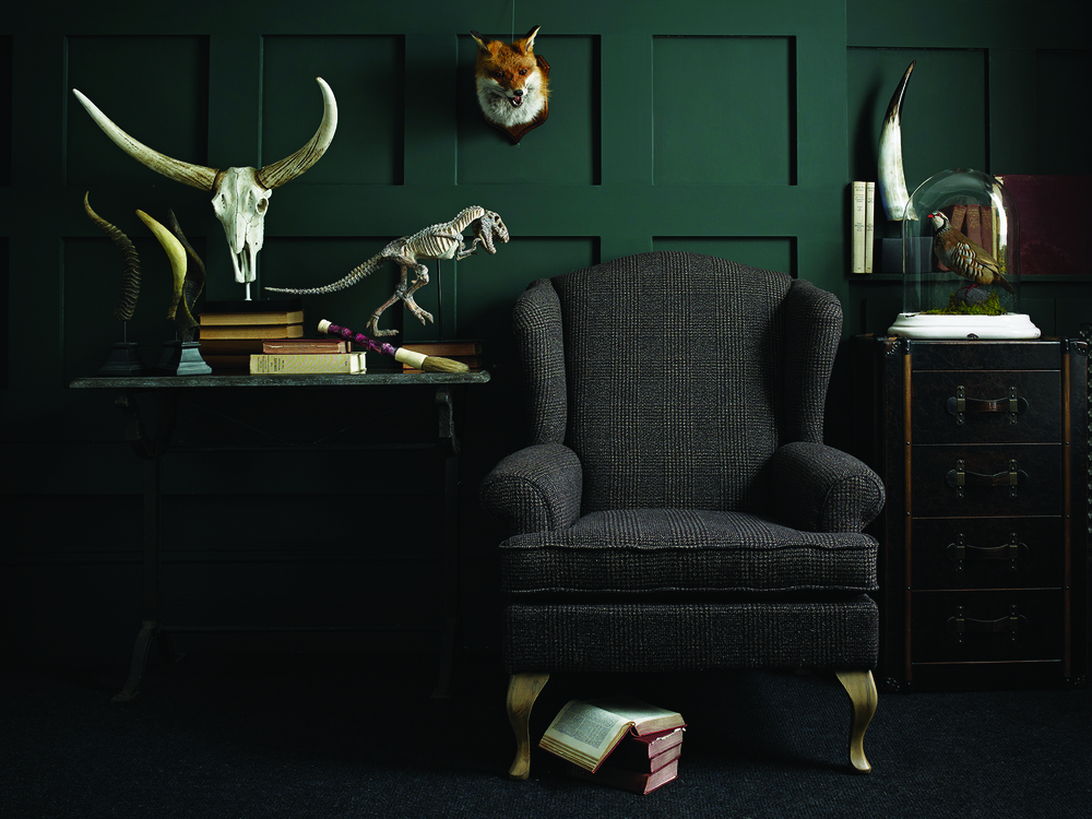 Wingback Chair for a Country Living Room