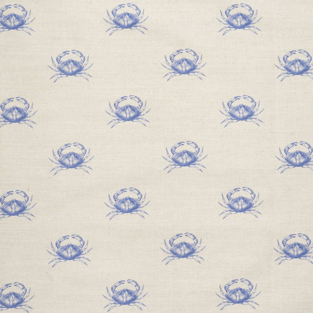 Emily Bond Blue Crab Fabric