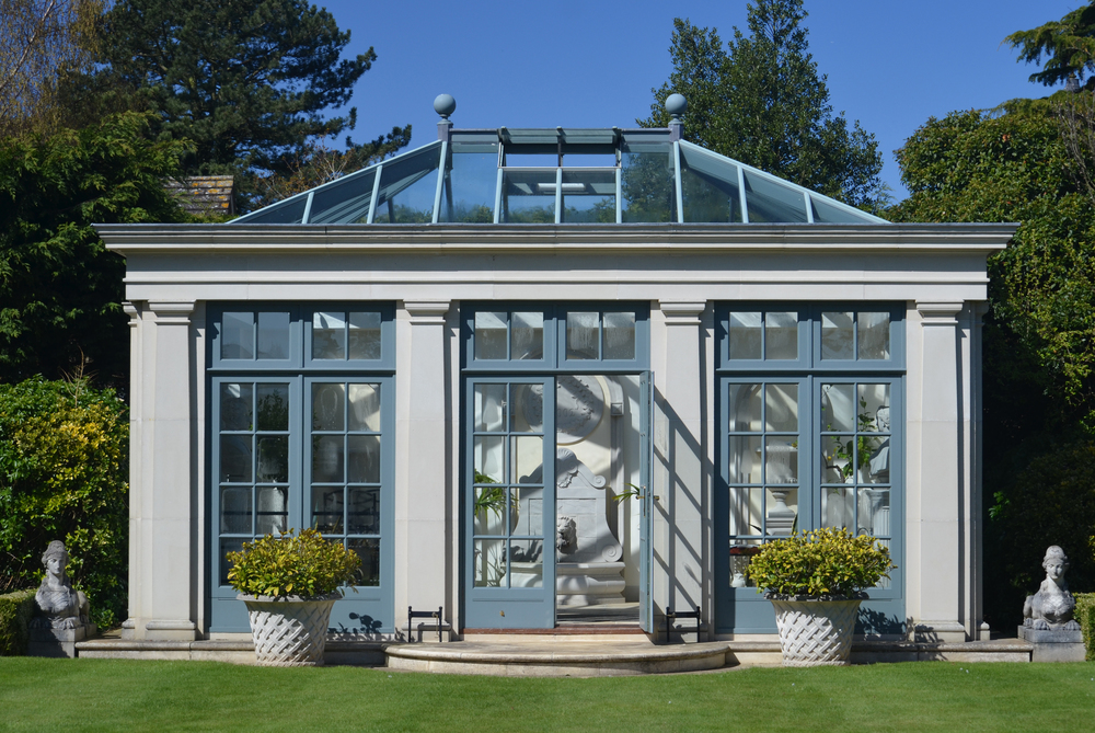 Summer Rooms for Every Budget: Glass Orangery. Click through to read more!