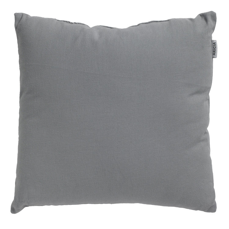 Colours at B and Q Grey Cotton Cushion