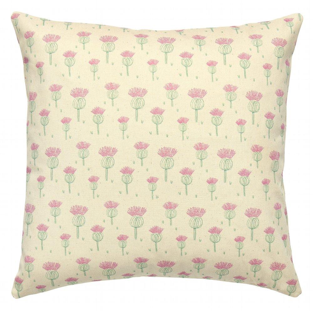 Juniper Jane Textiles Thistle Design Cushion.jpg