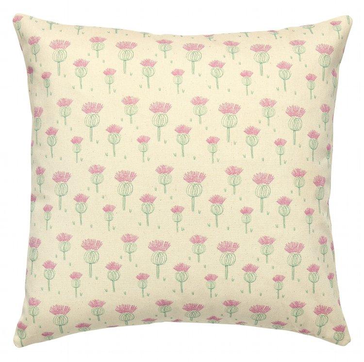 Juniper Jane Textiles Thistle Design Cushion