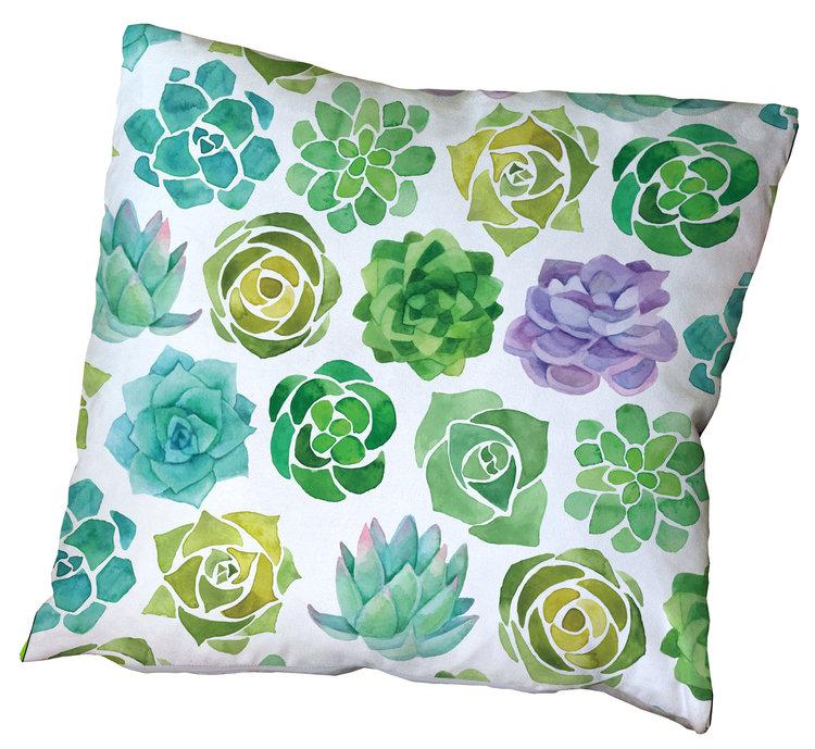 Succulents Cushion