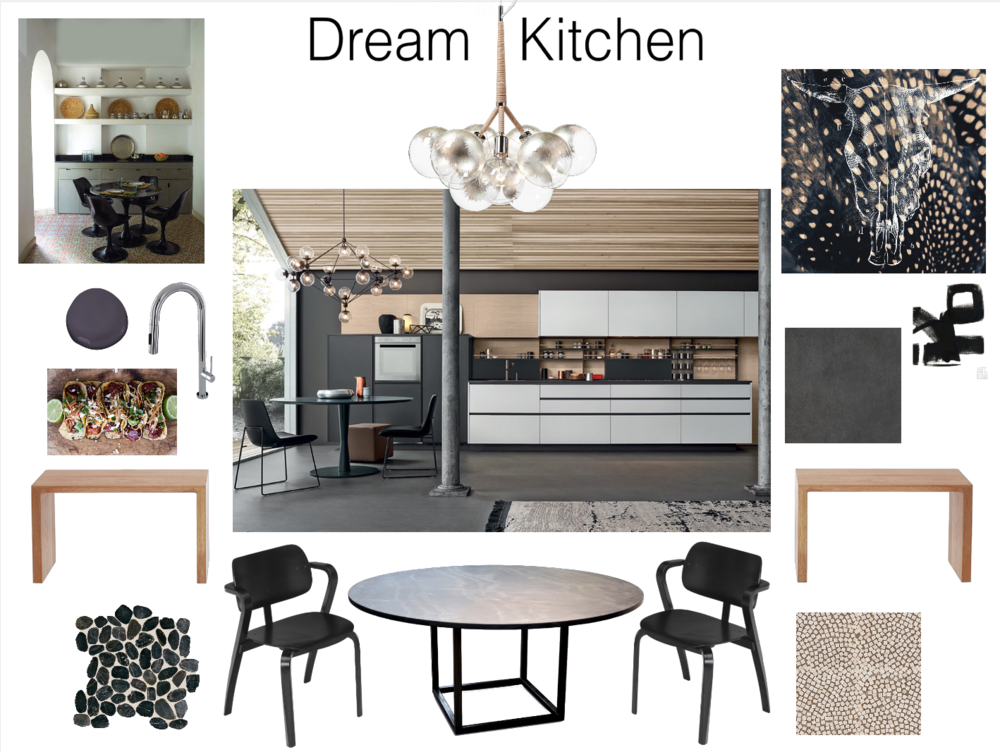 Mood Board Dream Kitchen
