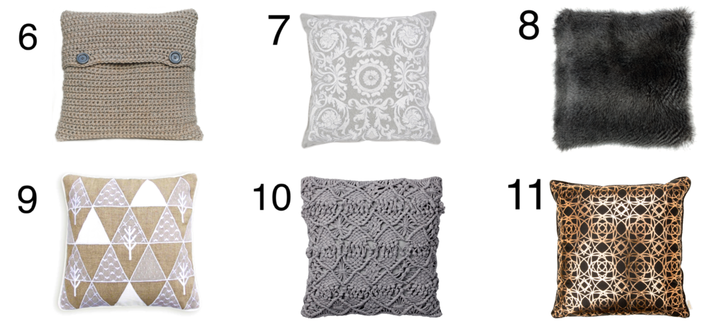 Cushion Textures