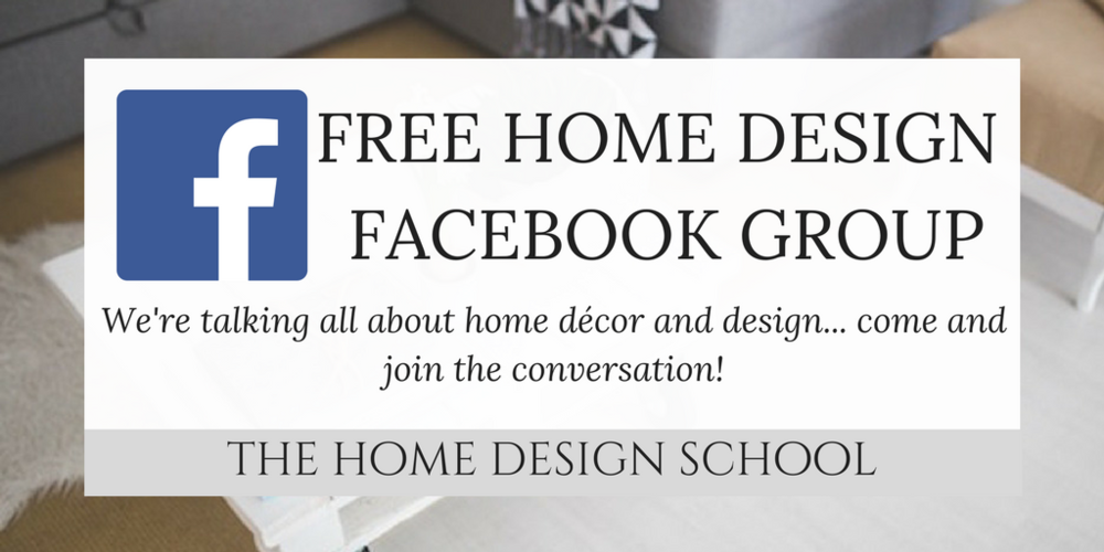 The Home Design School Facebook Group