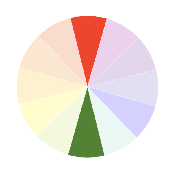 Complementary colour scheme