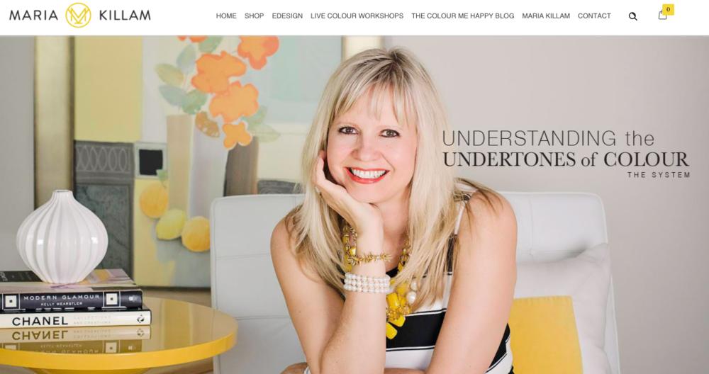 Maria Killam Colour Consultant