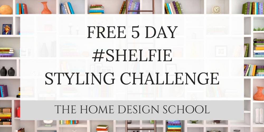 Free 5 day shelfie styling challenge