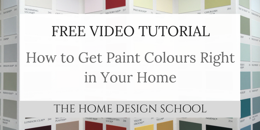 How to get paint colours right in your home