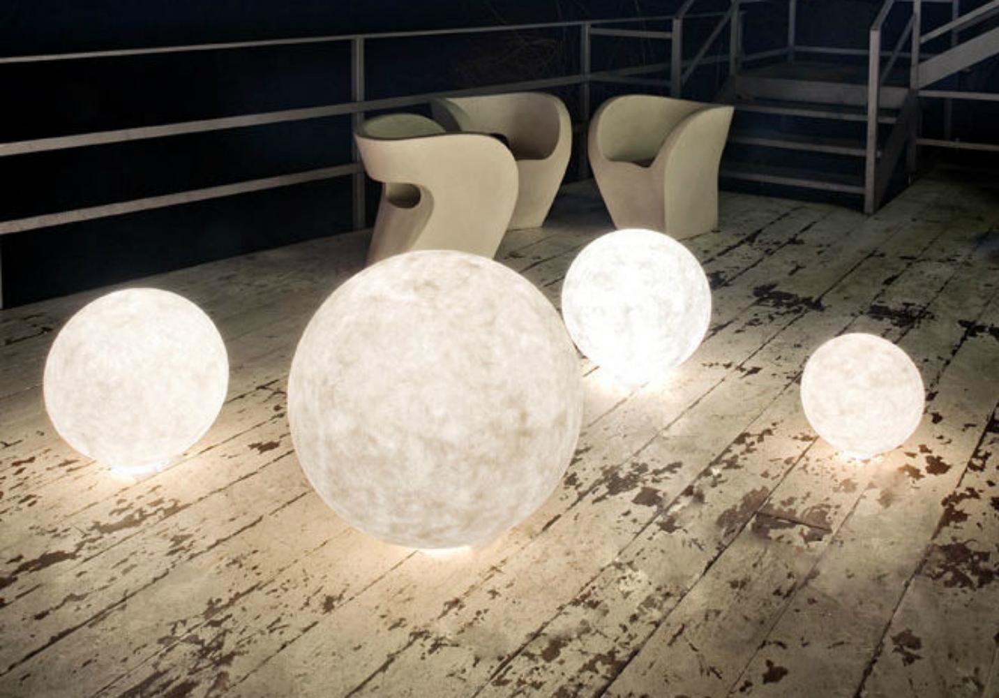 Luna Moon Outdoor Lights by  Babatude