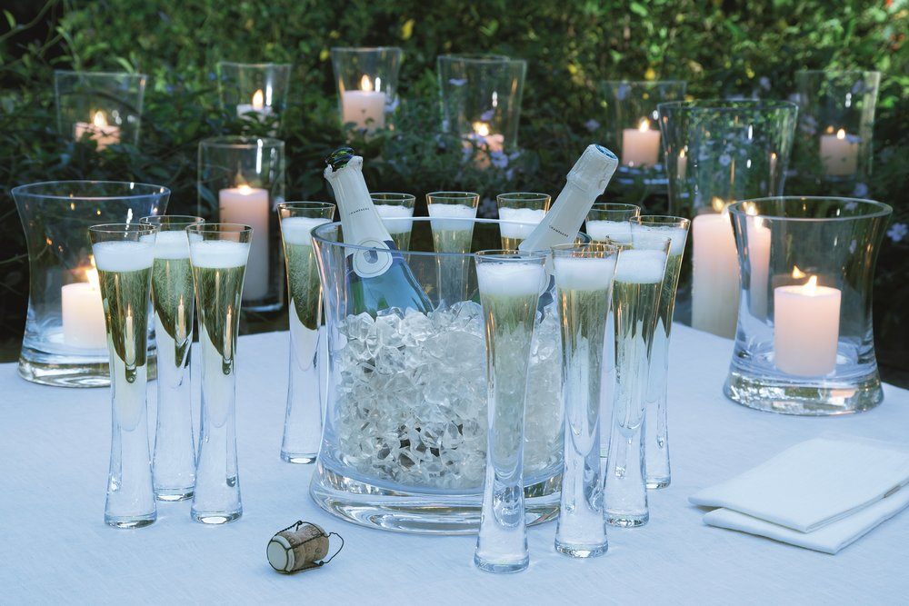 Champagne Serving Set by Black By Design
