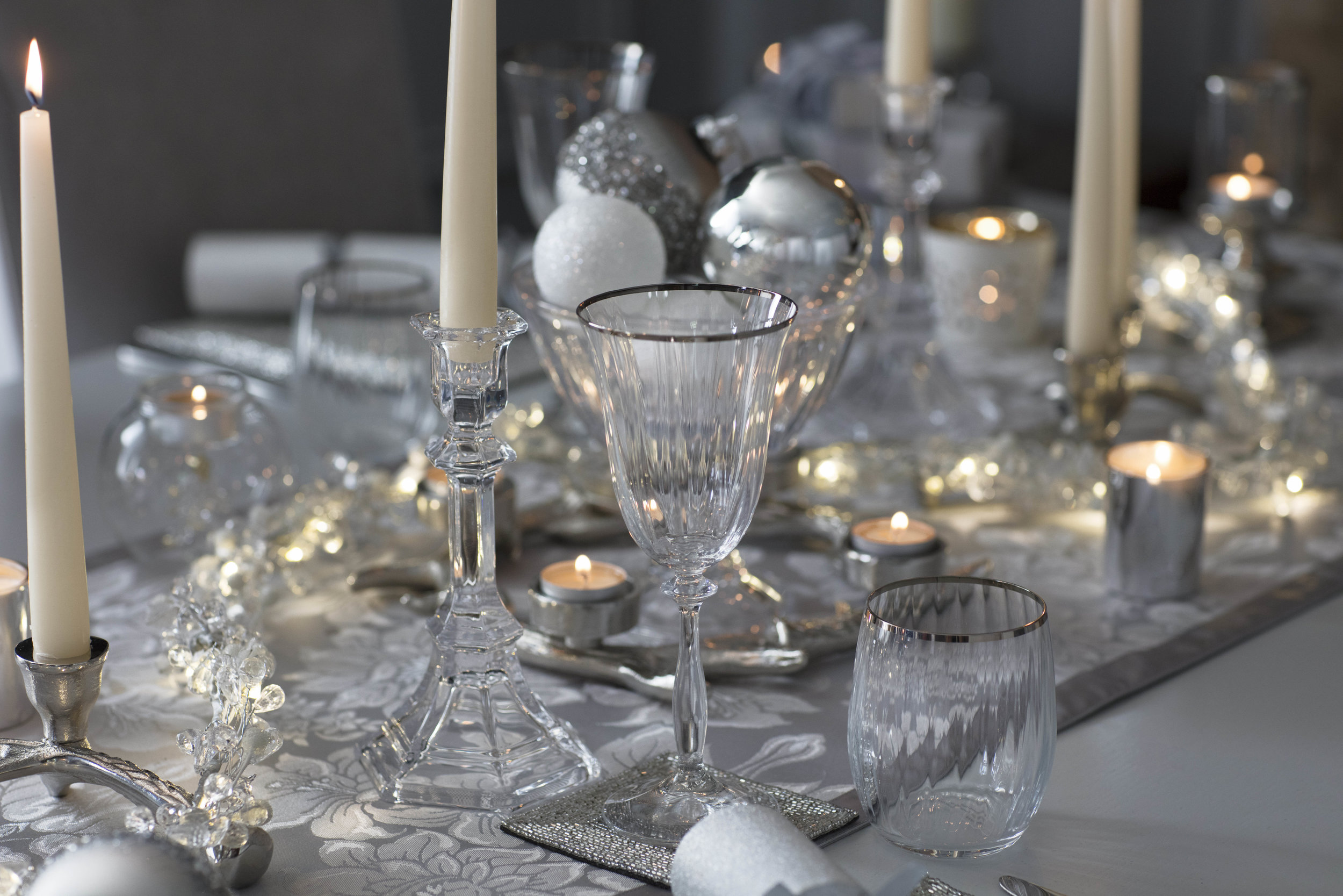 Glassware from  Laura Ashley