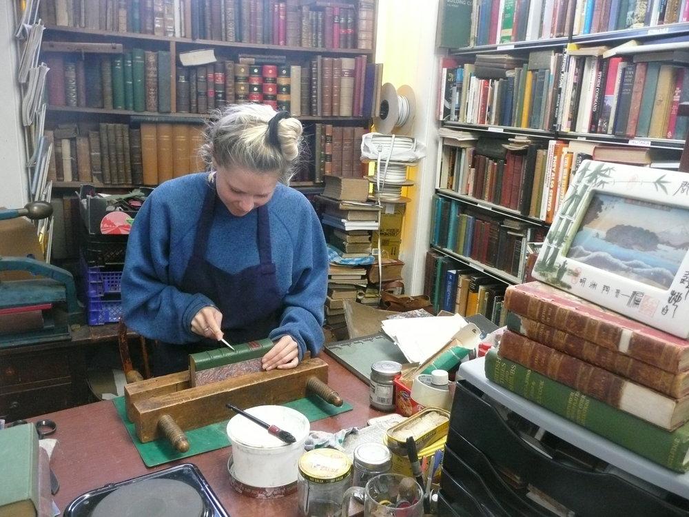 Bookbinder Devon
