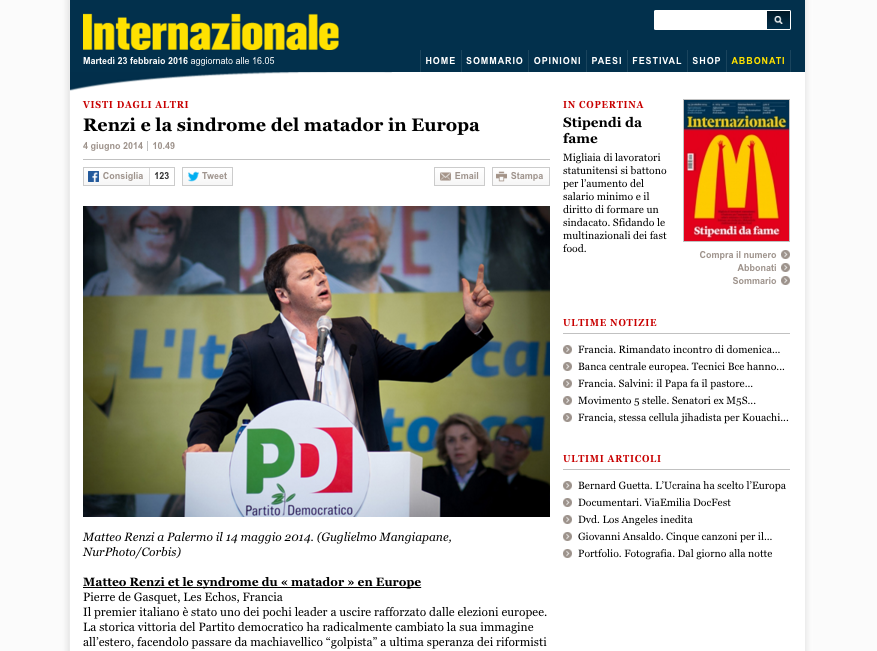 Internazionale — May 14, 2014