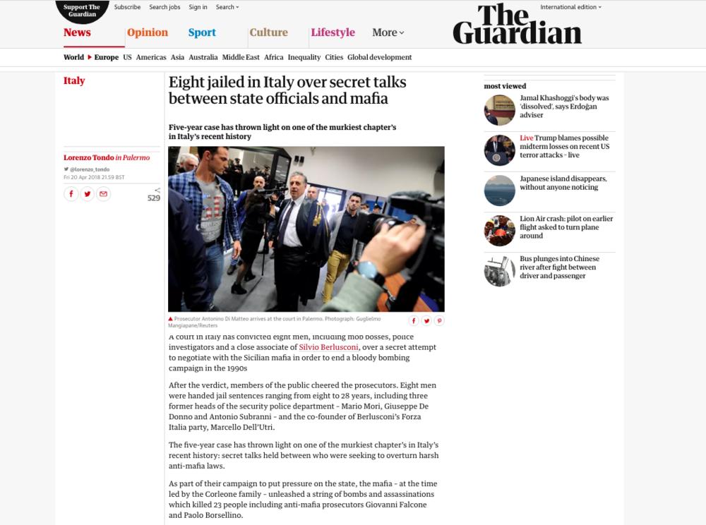 The Guardian — April 20, 2018