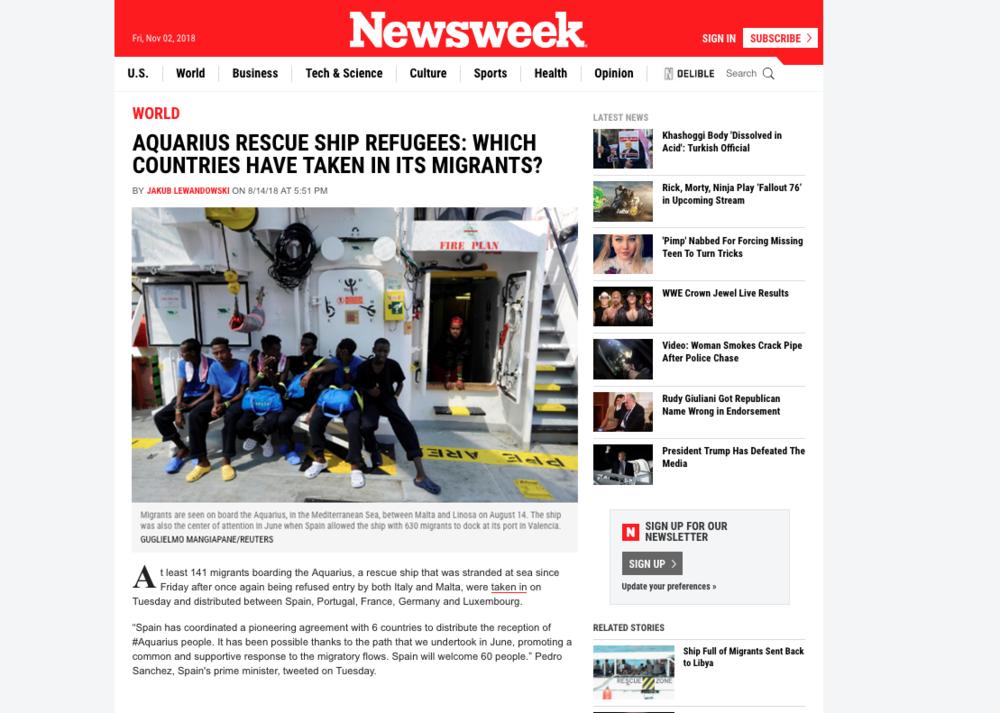 Newsweek — August 14, 2018