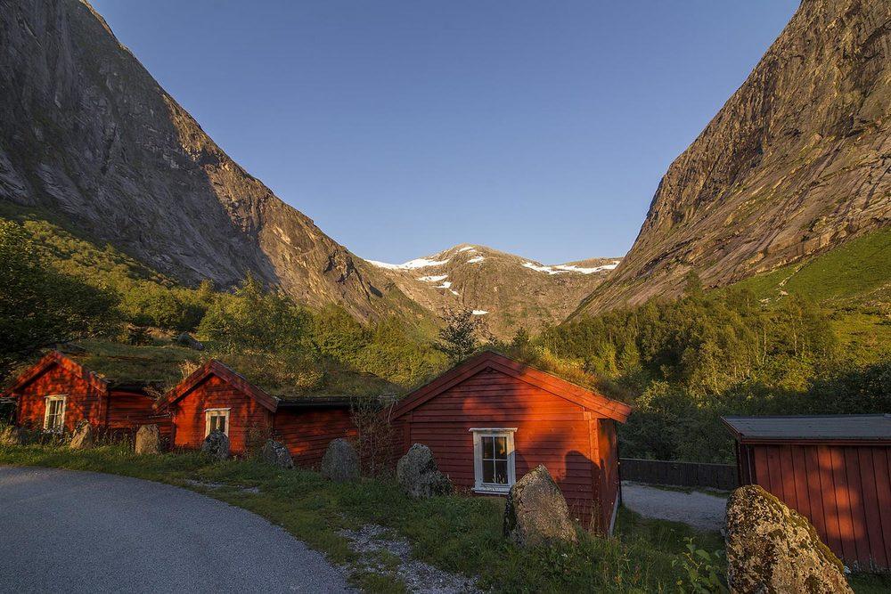 Campinghytter Lundebreen Jølstrafjella Lunde