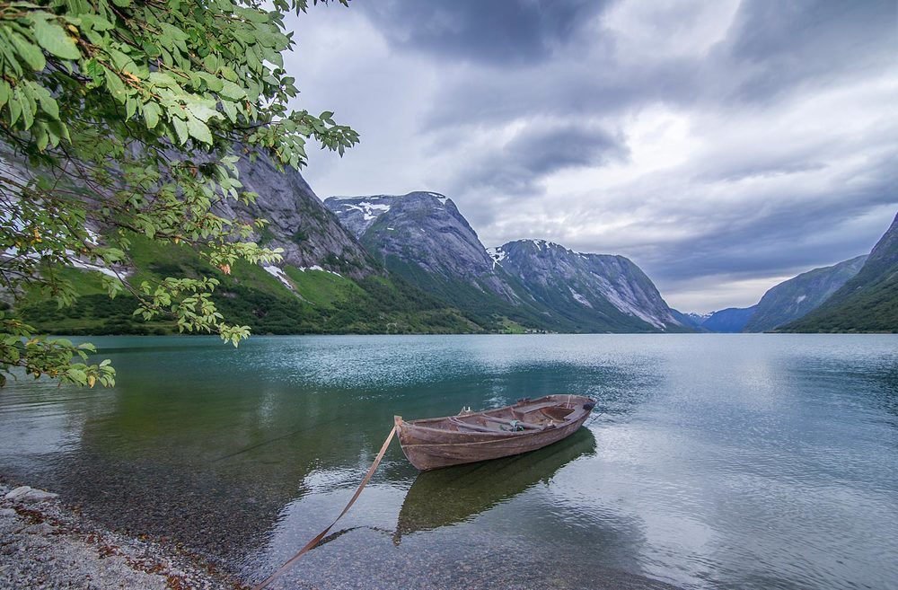Båt aurefiske Kjøsnesfjorden