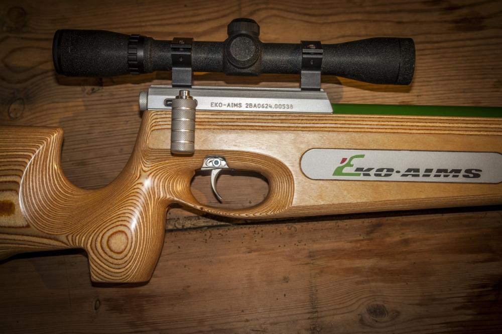 Eko Aims kvalitet våpen frå Finland