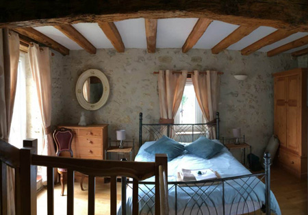 Yoga Retreat double room Chene France