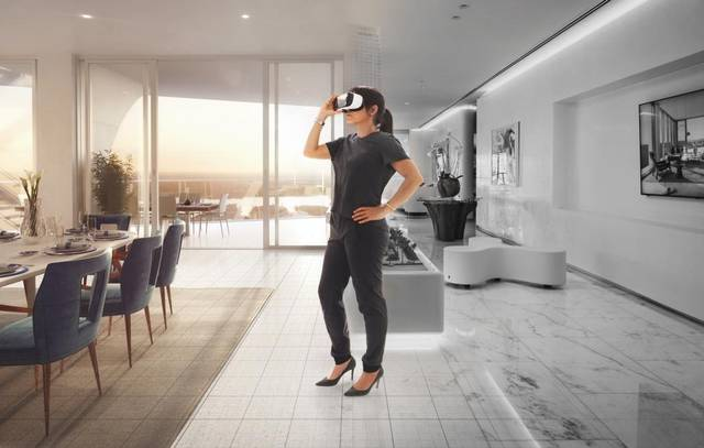31bdd3f22af Real estate brokers using virtual reality to show homes remotely ...