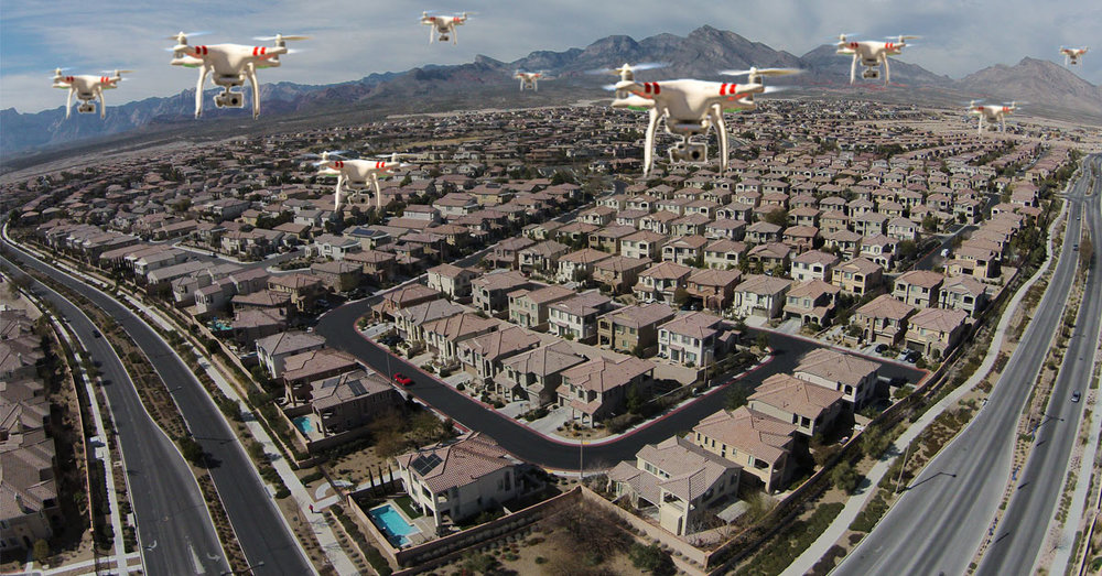 drone 3d models in real estate
