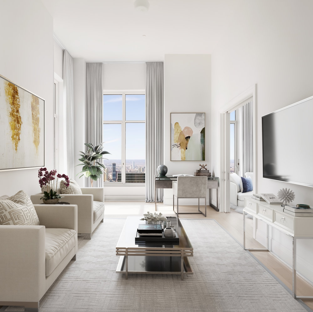 5 Beds, 6+ Baths | 5,937 SF | Tribeca    (Corcoran)
