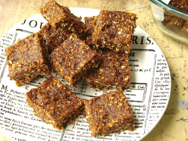 Chewy Peanut Butter Oat Bars Delectably Mine