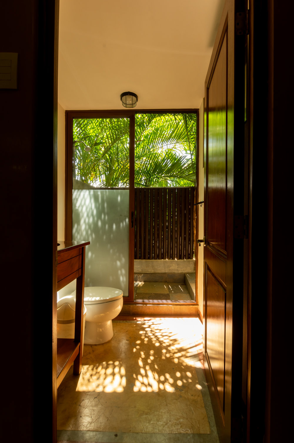 Nature Suite - Outside Shower