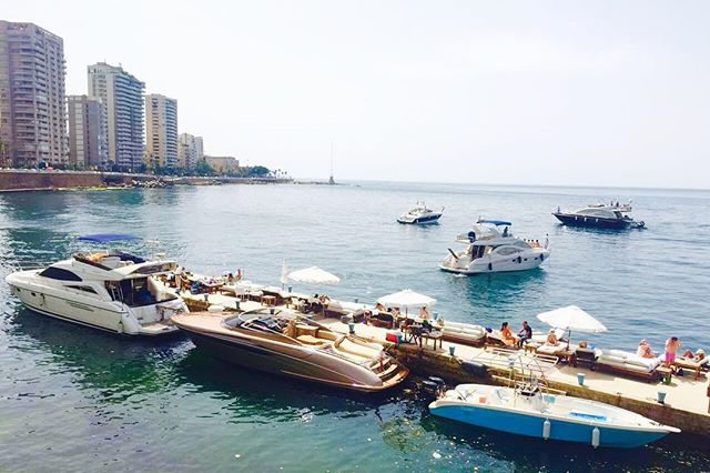 Why hello there, sailers! All aboard. Or off it. #seasaltbeirut #summer #summertime #sun #Boats #hot #sunny #warm #fun #beautiful #sky #clearsky #bluesky #vacationtime #weather #summerweather #sunshine #summertimeshine