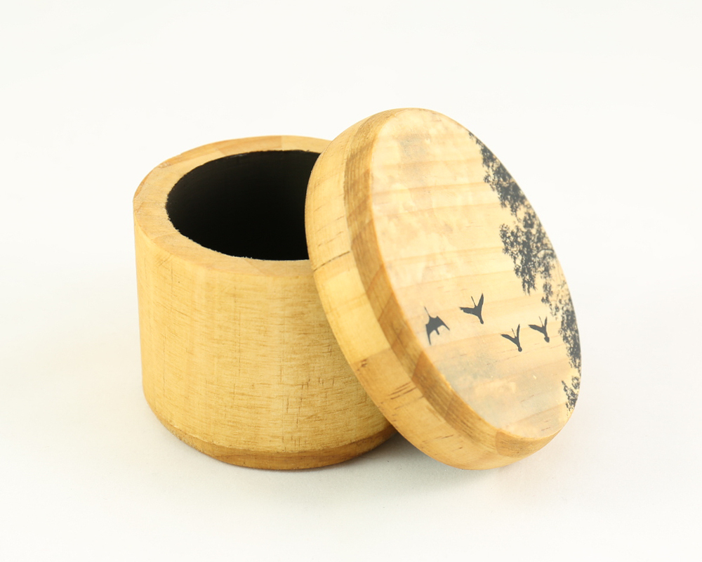 The flying geese boxes have been one of the best sellers.