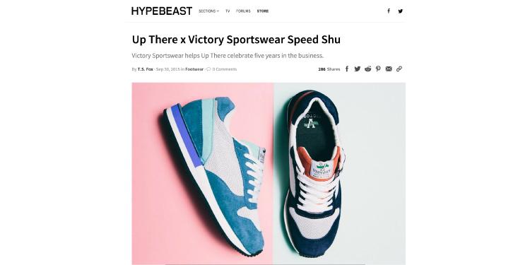 Victory Sportswear<br>Hypebeast