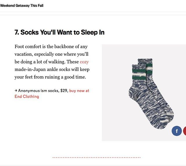 Thanks @gq we love to sleep in our @anonymousism_japan too!