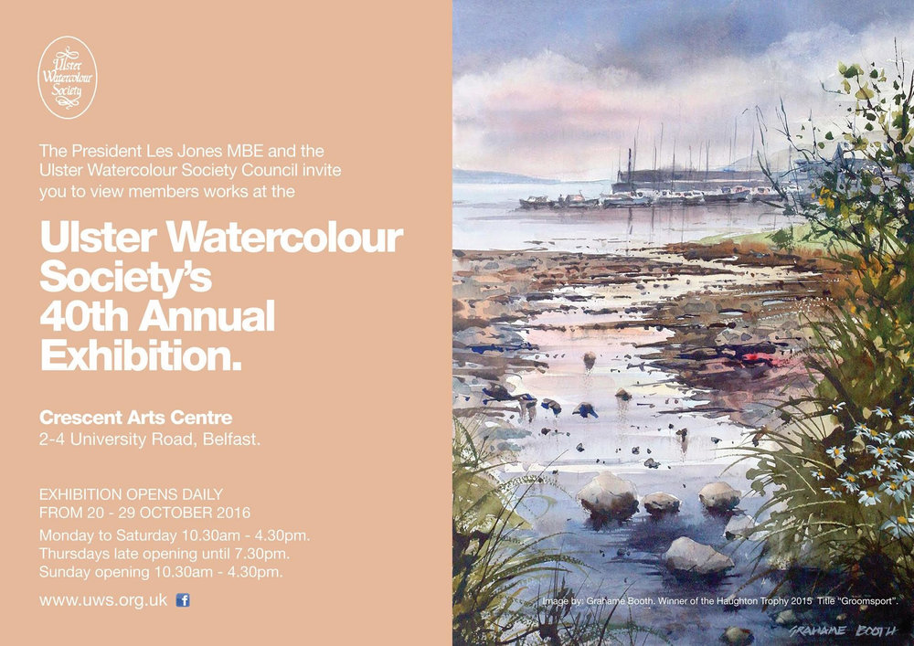 Ulster Watercolour Society exhibition flyer - Rosalind Murphy.jpg
