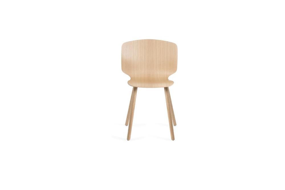 RADAR Chair - 4 legs - Wood