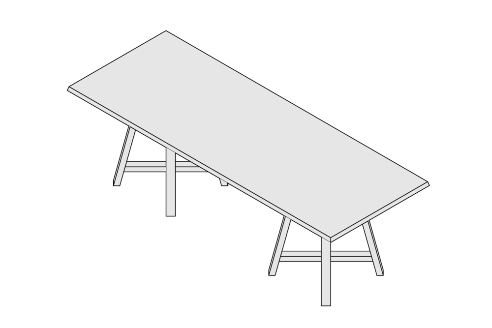 MONARCHY Rectangular Table