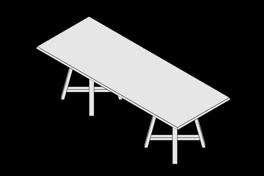 MONARCHY Rectangular Table