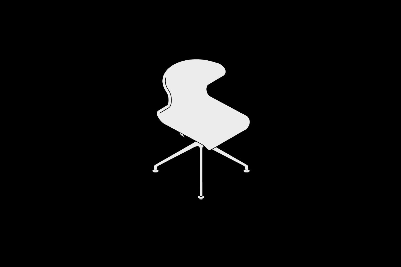Fabric Chair Swiveling Starbase Objekten Systems