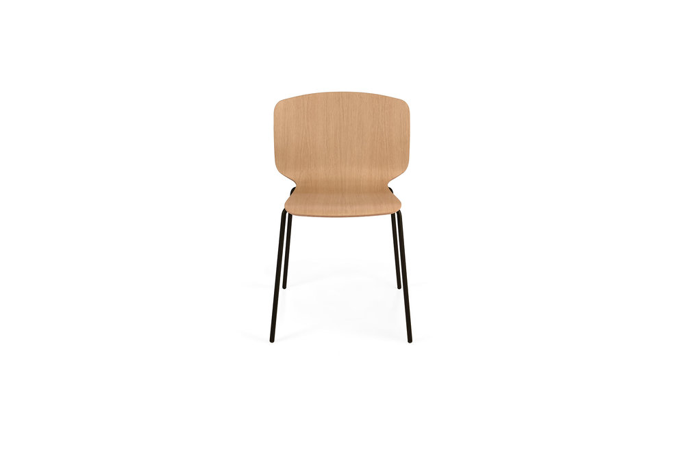 RADAR Chair - Steel Base - Plywood
